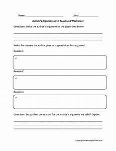 Argumentative essay worksheet tips for writing a research ...