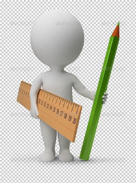 small people ruler  pencil  anatolym  small