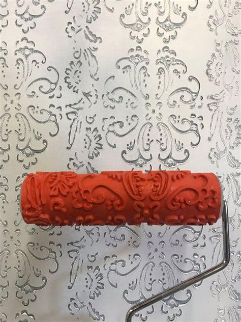 baroque pattern  decorative art roller