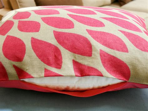how to make a cushion easy to sew pillows hgtv
