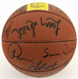 Lot Detail - 1982-83 Golden State Warriors Team Signed ...
