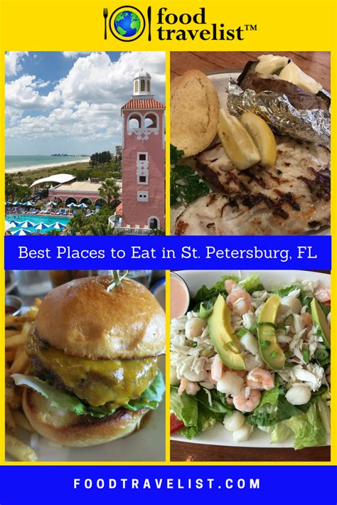 Best Places To Eat In St Petersburg, Florida By Food Travelist