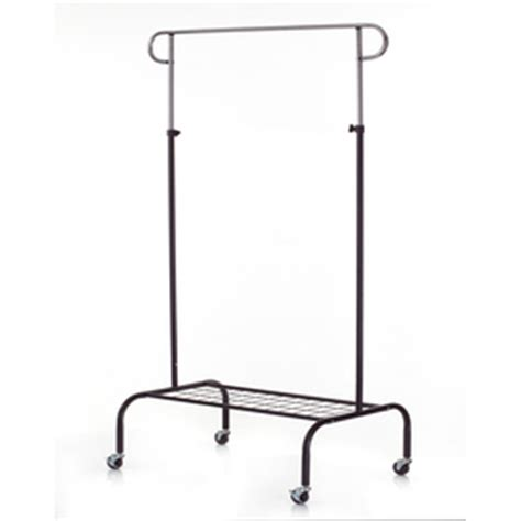 lowes garment rack shop style selections chrome black steel garment rack at
