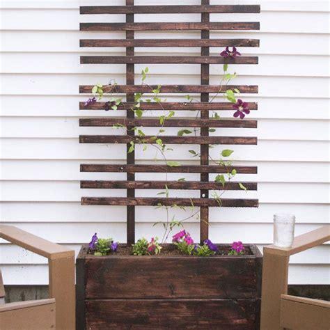 Jardinière Avec Treillis Best 25 Treillis Bois Ideas On Treillis En Bois Treillage Bois And Design Patio