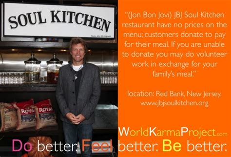 Jbj Soul Kitchen World Karma Project