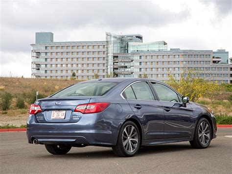 Midsize Sedan Comparison 2015 Subaru Legacy  Kelley Blue