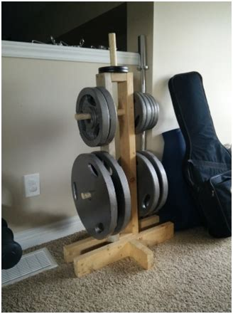 build  diy weight tree    diy home gym