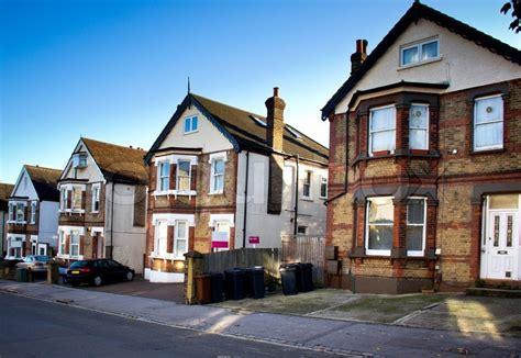 Englische Häuser  Stockfoto Colourbox