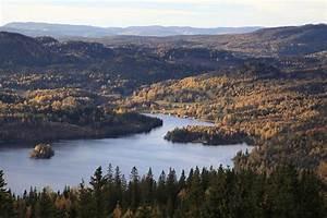 """""""View from mountain Ringkallen - Höga Kusten / High Coast"""