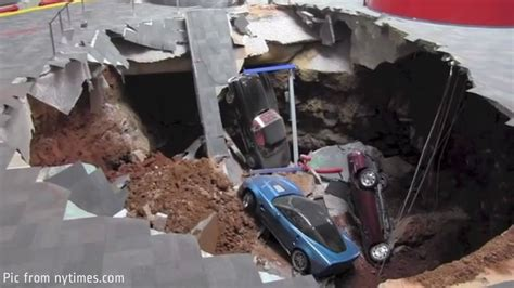 corvette museum sinkhole location sinkholes classic rides modern cars and