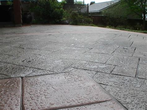 sted concrete patio in vancouver bc