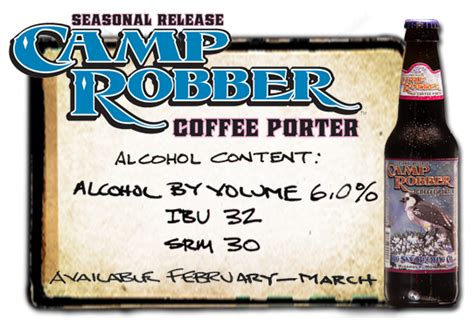 Add a coopers cask coffee coupon. Seasonal release Camp Robber Coffee Porter alcohol content 6.0% by volume 32 IBU 30 SRM ...