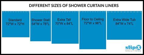 Standard Shower Curtain Liner Length