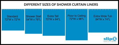 shower drain how is a standard or shower curtain liner