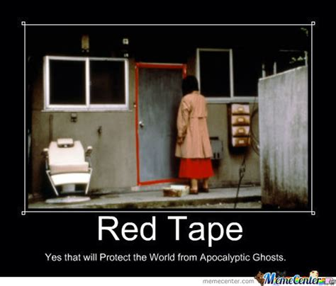 Tape Meme - red tape by jayokyo meme center