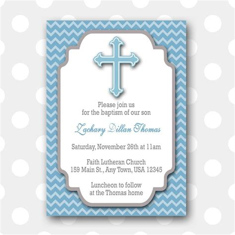 baptismal invitation card template Invitation template