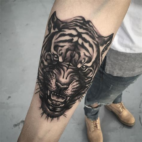 60 Amazing Tiger Face Tattoos Designs And Ideas Collection
