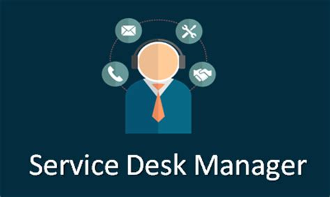 help desk online training service desk manager training online with live projects