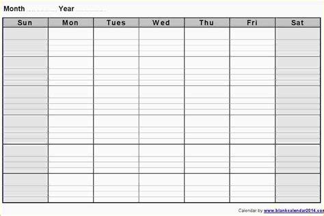 Weekly Calendar Template 3 Blank Weekly Calendar Template Ganttchart Template
