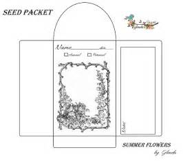 blank seed packets glenda 39 s world seed envelope packets