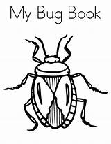 Coloring Beetle Bug Pages sketch template