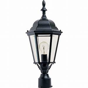Maxim lighting coldwater light burnished outdoor pole