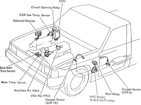 1988 Toyotum 22re Engine Wiring Diagram by 1988 4 Cyl 22re Engine No Power To Fuel