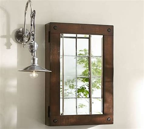 Small Rustic Bathroom Mirrors  Doherty House  Frame A