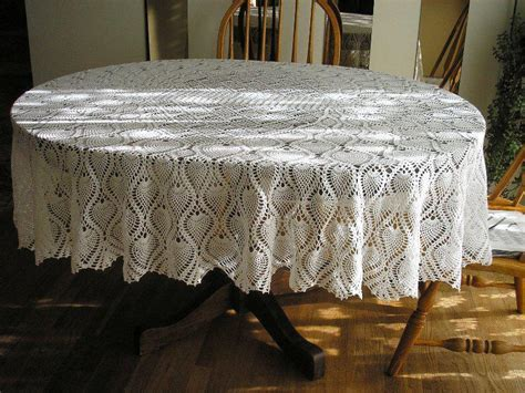 60x84 Oval Vinyl Tablecloth ? Joanne Russo HomesJoanne