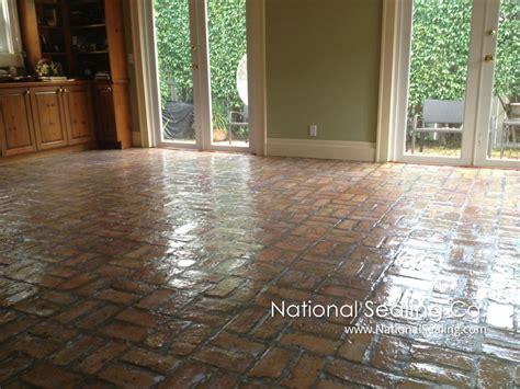 cleaning sealing interior pavers national sealing