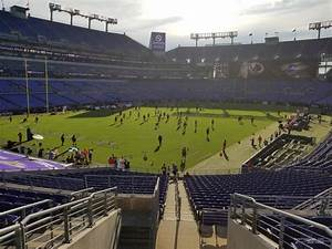 Section 108 At M T Bank Stadium Baltimore Ravens