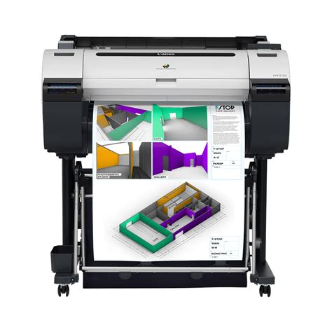 colour plotter printers canon uk