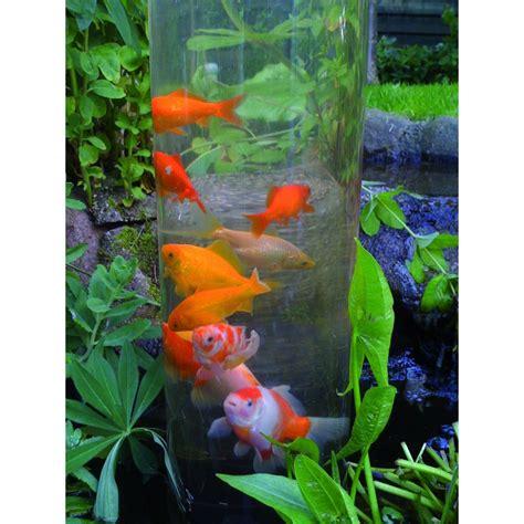 fishtower 100 tour 224 poisson ubbink pour observer les poissons du bassin de jardin