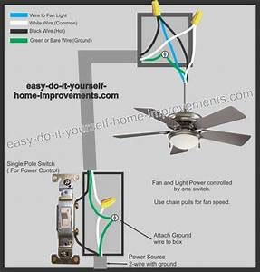 3 Speed Ceiling Fan Electrical Wiring Diagram