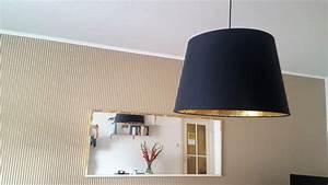 IKEA HACK Lampenschirm RISMON Mit Blattmetall Beklebt