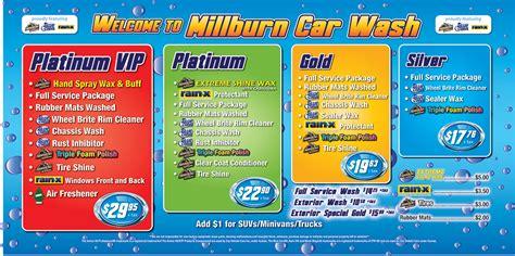 car wash service car wash services millburn car wash detail center