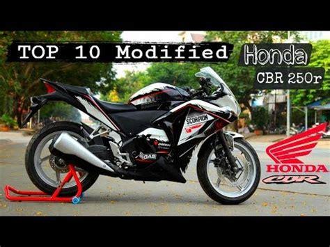 Cbr 250r Modification by Top 10 Best Modified Honda Cbr 250r In India Top