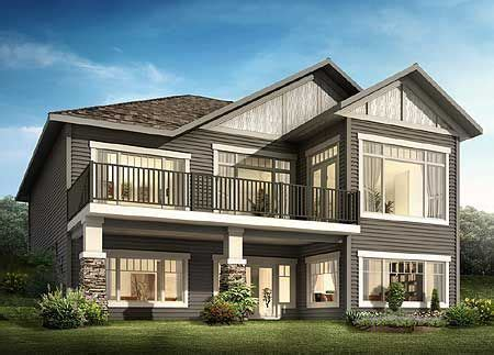 Plan 81621AB: Great From the Front and Back Craftsman