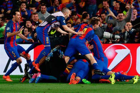 Miracle at the Nou Camp as Barca stun PSG 6-1 - Sports ...