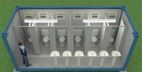 container toilets   barship