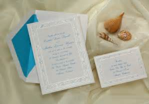 wedding invitations theme wedding invitations response sets sea shells