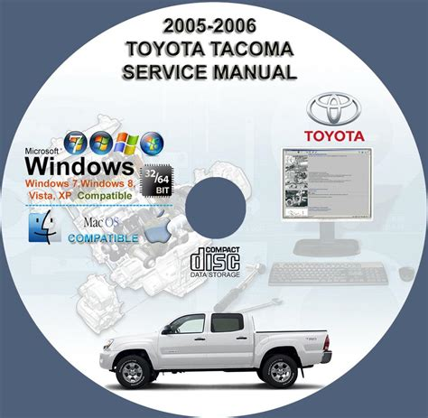 service manuals schematics 2005 toyota tacoma seat position control toyota tacoma factory service repair manual on cd 2005 2006 www servicemanualforsale com