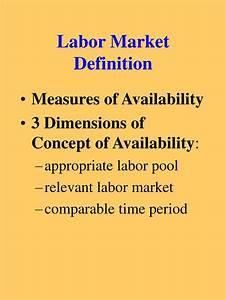 Ppt - Labor Market Definition Powerpoint Presentation