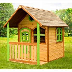 Cabane Enfant En Bois Alex Axi Eden Deco