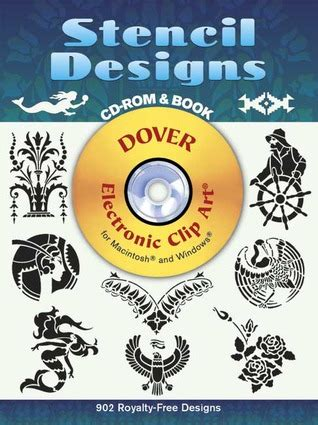 stencil designs cd rom  book  dover publications  reviews discussion bookclubs lists