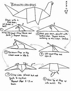 origami pterodactyl instructions easy origami With origami diagrams