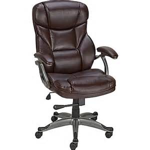 staples osgood bonded leather high back manager s chair