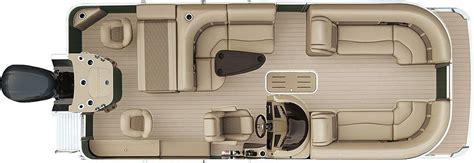 Bennington Pontoon Boats Floor Plans by 2018 G22 Cruise Fishing Pontoon Boats By Bennington