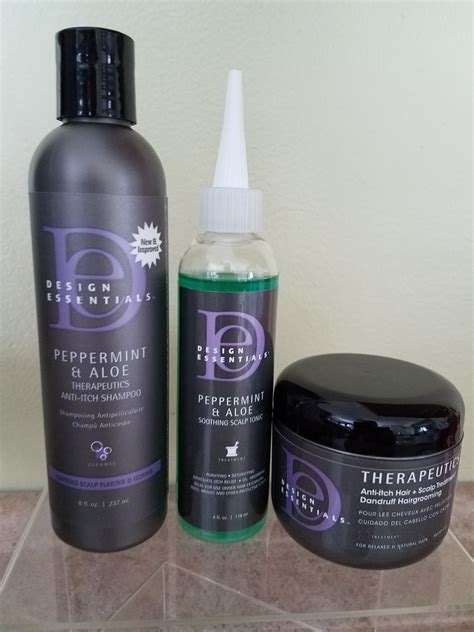 design essentials itchy scalp combo 1 peppermint aloe