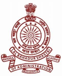 Lal Bahadur Shastri National Academy of Administration ...